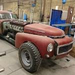Gokil, Volvo Jadul Dipasangkan Mesin Tank