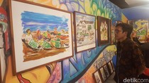 Puluhan Lukisan Ini Angkat Spot Cantik Seantero Nusantara
