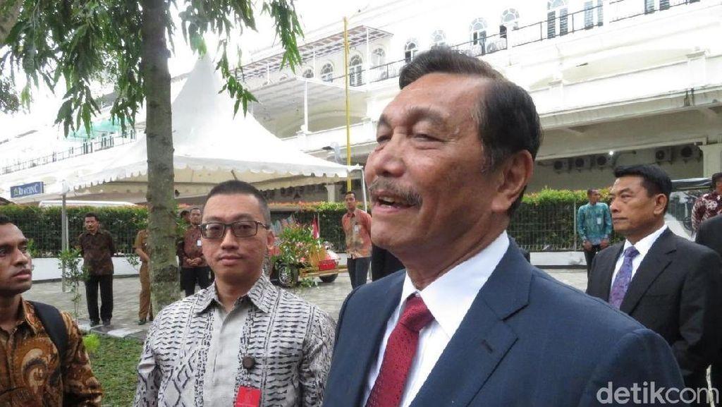 Luhut Lapor ke Jokowi Soal Rencananya Keliling Dunia