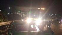 Kecelakaan Sedan VS Tiang Lampu di Dekat Pintu Tol Meruya Jakbar