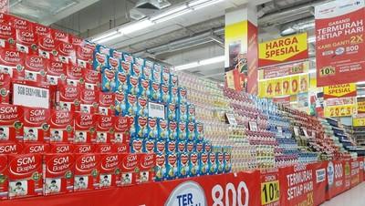 Bun, Beli Susu Anak Gratis Minyak Goreng di Transmart Carrefour