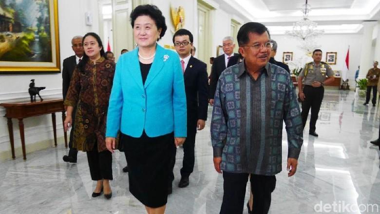 JK ke Wakil PM China: Jangan Terlalu Banyak Bawa Pekerja ke RI