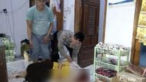 Pemilik Toko Kelontong di Jember Dibacok Orang Tak Dikenal