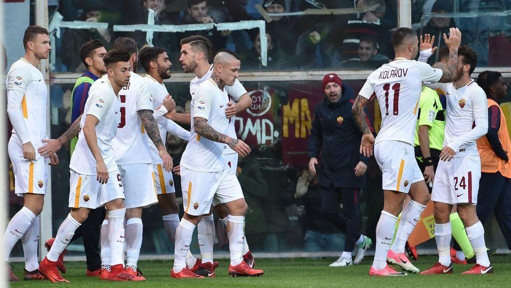 Roma Mengacaukan Kemenangannya Sendiri