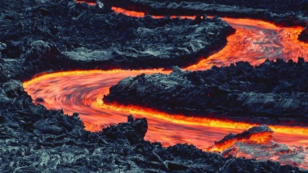 Saat GoPro Rekam Detik-detik Ditelan Lava Gunung Berapi