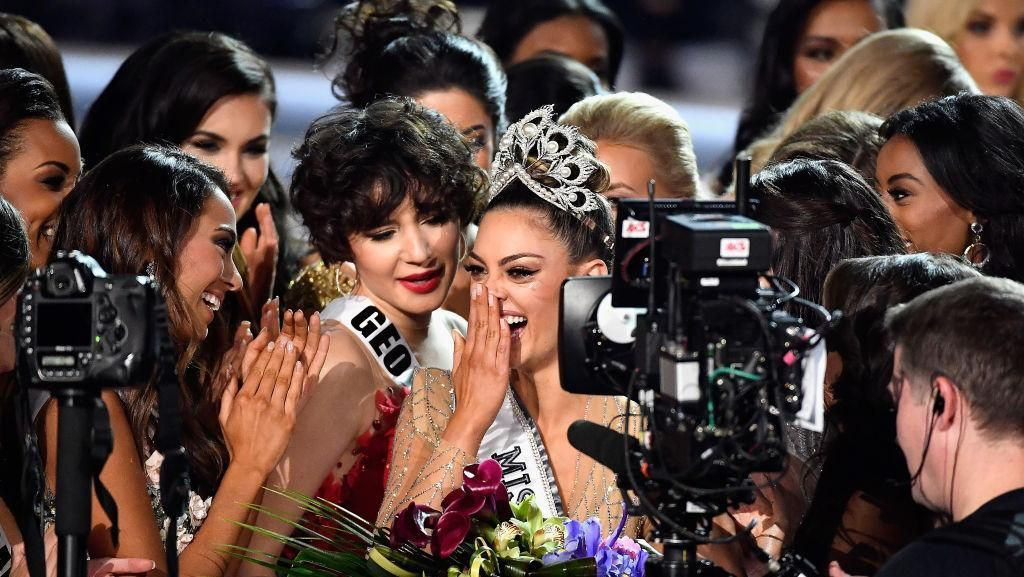 Foto: Kemeriahan Miss Universe 2017 yang Digelar di Las Vegas