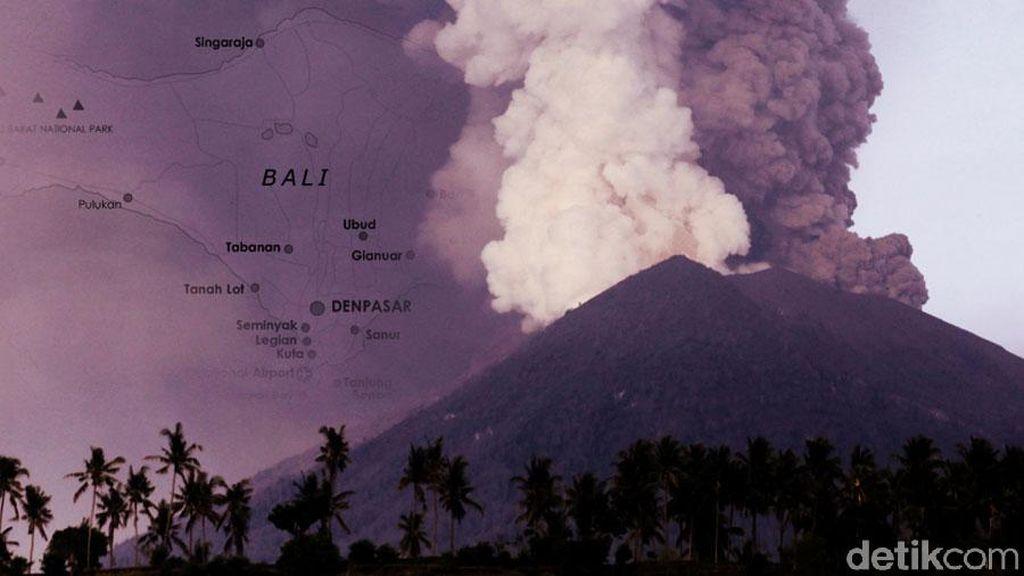 Terkait Gunung Agung, Citilink Batalkan 30 Penerbangan dari dan ke Bali