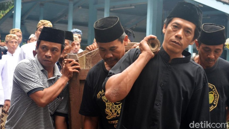 Nyiram Gong Sekati, Ritual Sakral Keraton Kanoman Cirebon