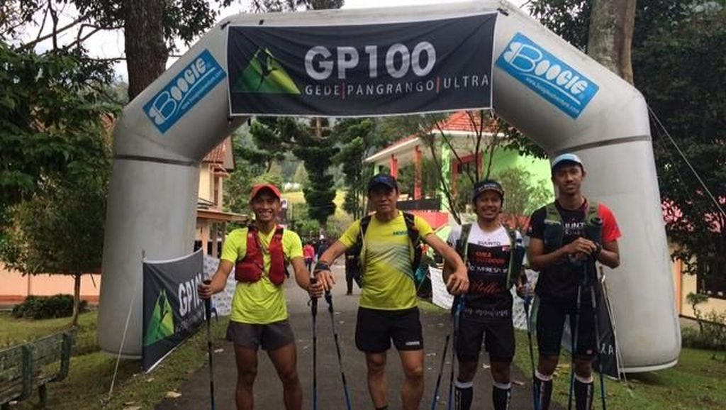Lomba Lari Trail 300 Km Digelar di Gunung Gede-Pangrango