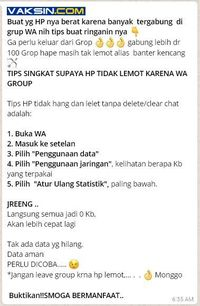 Tips WhatsApp Anti Lemot