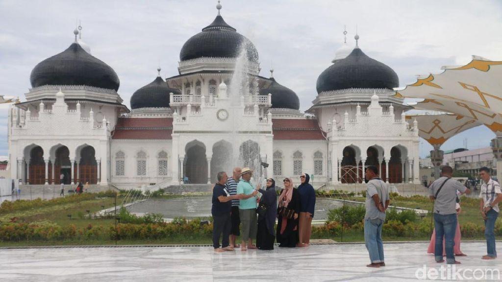 Turis Malaysia Masih Dominasi Kunjungan Wisman ke Aceh