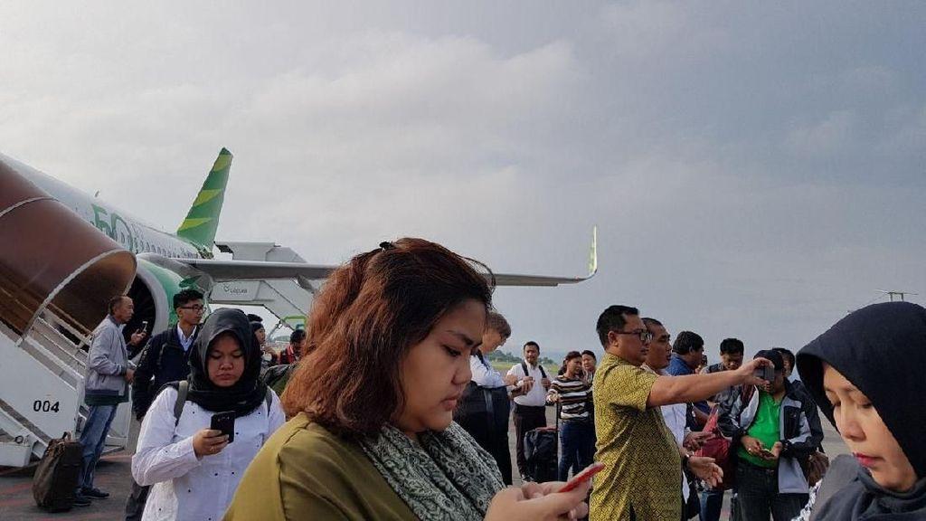 Erupsi Gunung Agung, Traveler Sudah di Pesawat Turun Lagi