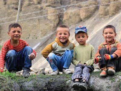 Foto: Desa di Pakistan, Warganya Suka Bersedekah