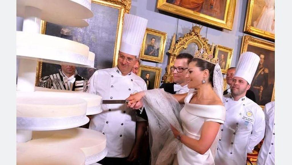 Intip 11 Royal Wedding Cake yang Paling Terkenal di Dunia