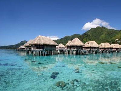 Foto: Ada Pulau Surga di Tengah Samudera Pasifik