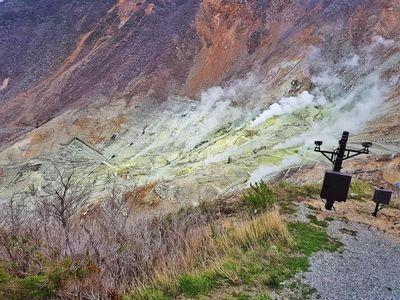 Mengunjungi Kawah Neraka Jepang