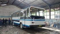 Bus Damri Klasik di Bandung Direkondisi untuk Layani Rute Wisata