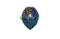 Keren, Coretan Tangan di Helm Tes Musim Dingin Valentino Rossi