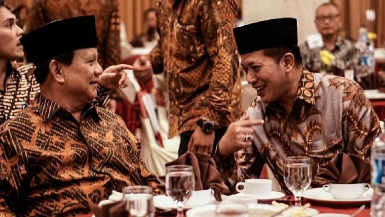 Bantah Prabowo Minta Miliaran ke La Nyalla, Gerindra: Bukan Mahar