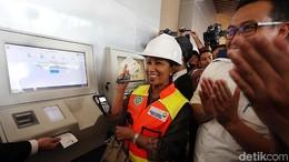 Soal Tarif Kereta Bandara Soetta, Rini: Tunggu Diresmikan Presiden