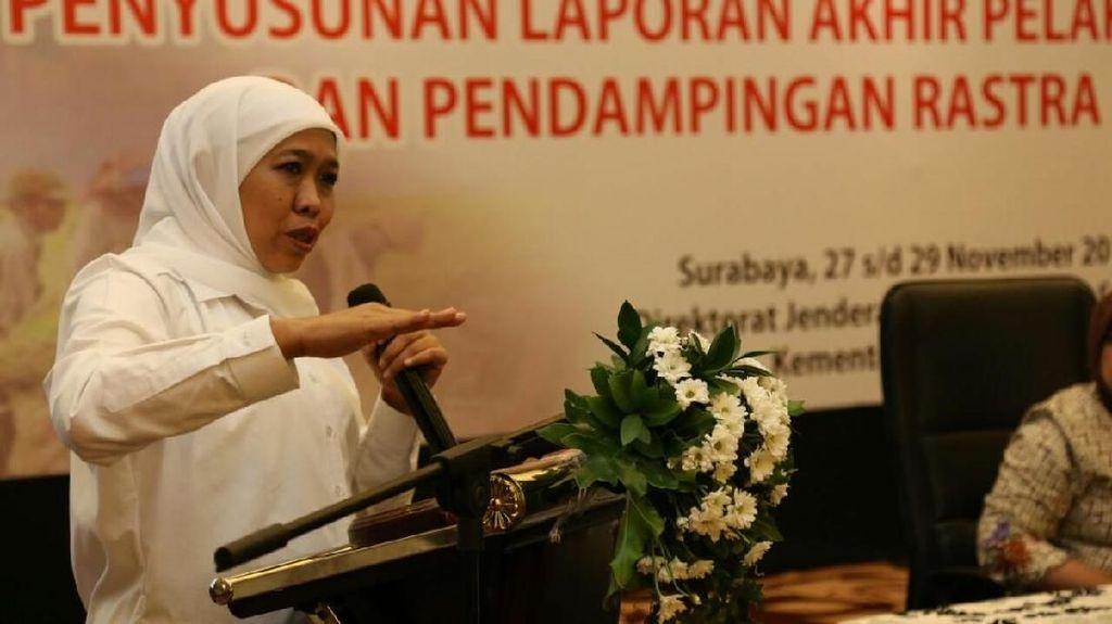 Soal Surat ke Jokowi, Khofifah: Strictly Confidential