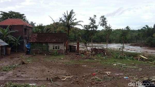 Satu Rumah di Bantul Hanyut Terbawa Luapan Sungai Oya