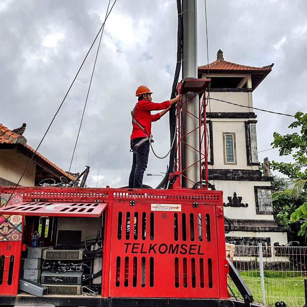 Telkomsel Antisipasi 142 Lokasi Susah Sinyal Jelang Libur Natal