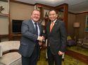Jonan Temui PM Denmark, Bahas Energi Terbarukan