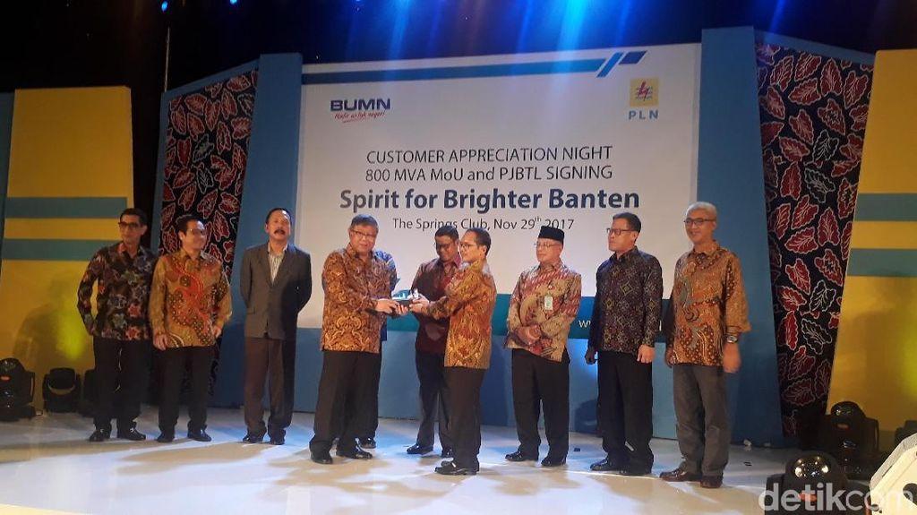 PLN Teken Perjanjian Jual Beli Listrik Industri di Banten