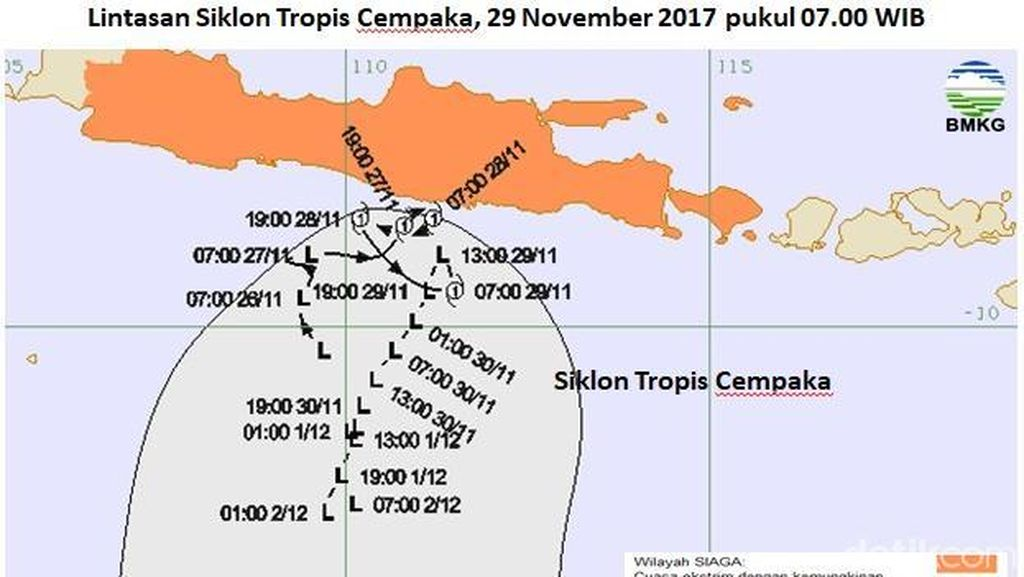 Antisipasi Siklon Cempaka, Air Kali di Kota Semarang Dikeringkan