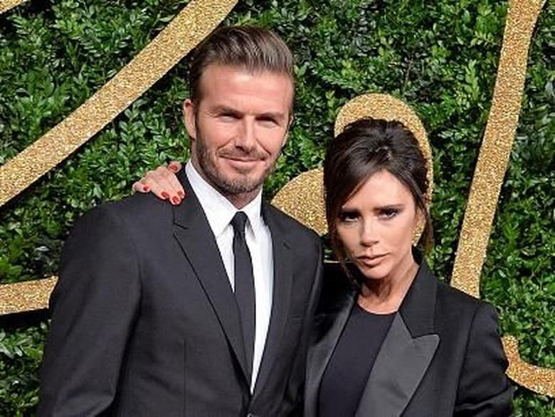 18 Tahun Menikah, David dan Victoria Beckham Mesra Terus