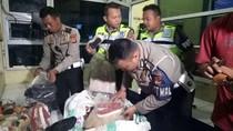 Ketakutan, Sopir Angkot Serahkan Ribuan Pasang Sepatu ke Polisi