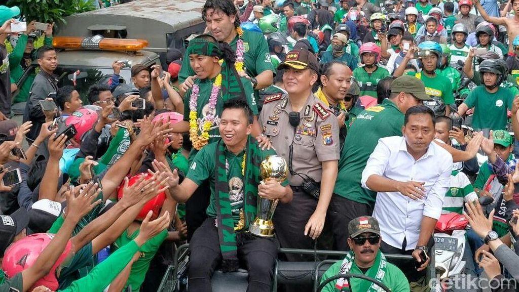 Persela vs Persebaya Tanpa Bonek, LA Mania Harus Siap Dilarang ke Surabaya