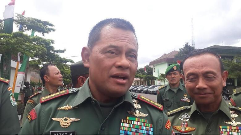 KSAU Jadi Calon Tunggal Panglima TNI, Ini Kata Jenderal Gatot