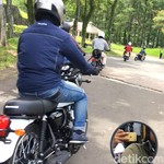 Test Ride Pertama Kawasaki W175 Seantero Dunia