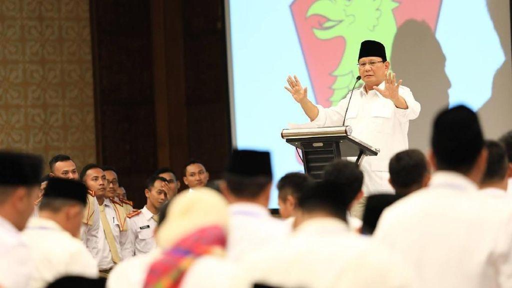 Deklarasi Cagub Jabar Bareng Ulama, Prabowo: Peran Mereka Besar