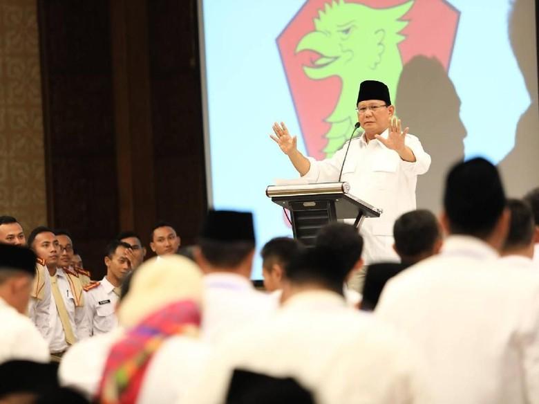 Prabowo Tunjuk 2 X-Men Jokowi di Panggung Pilgub