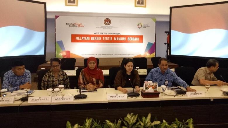 Antisipasi Darurat Pemerintah Pastikan Stok - Jakarta Menteri Sosial Khofifah Indar menyampaikan bahwa pemerintah sudah menyiapkan logistik menghadapi kemungkinan bencana banjir dan longsor dalam