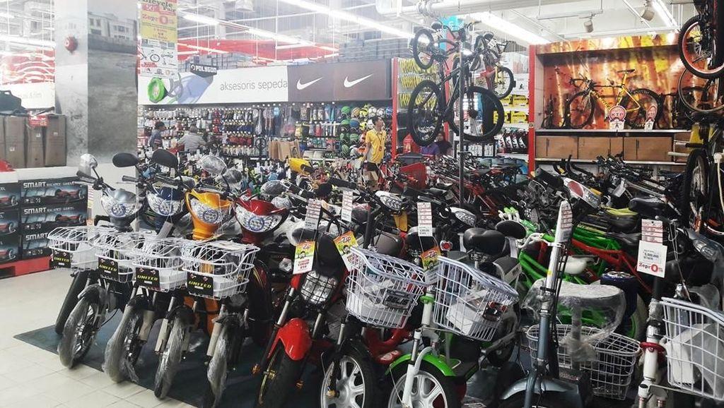 Harga Spesial Pembelian Sepeda Listrik Selis di Transmart Carrefour
