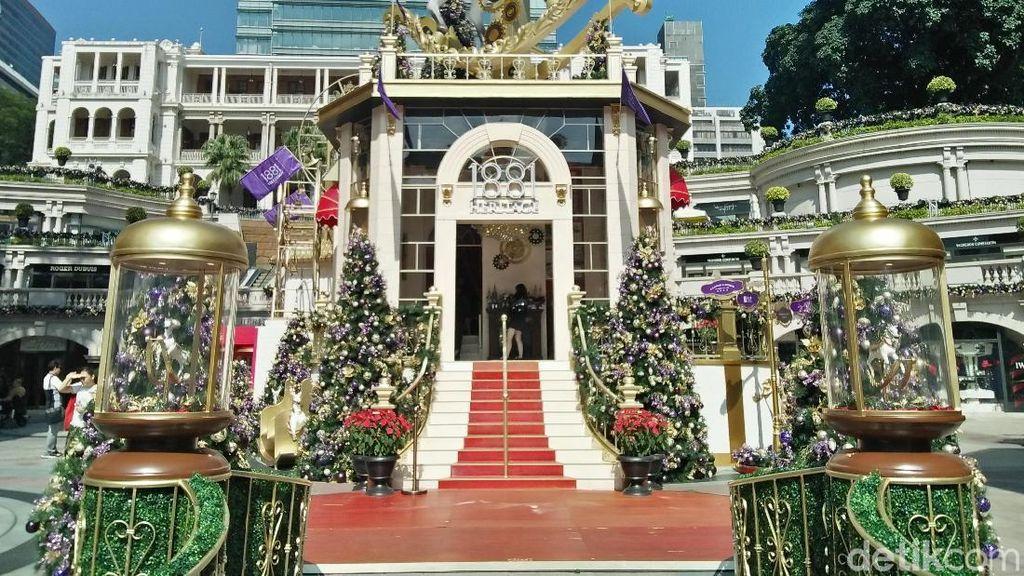 Foto: Spot Instagrammable Bertema Natal di Hong Kong