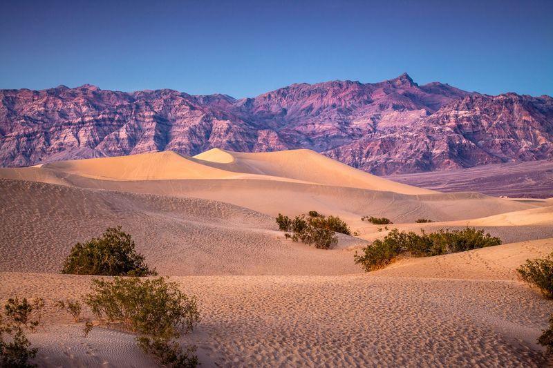 Death Valley menjadi salah satu tempat terpanas di Negeri Paman Sam. Saat musim panas, suhunya rata-rata mencapai 51 derajat Celsius (Thinkstock)