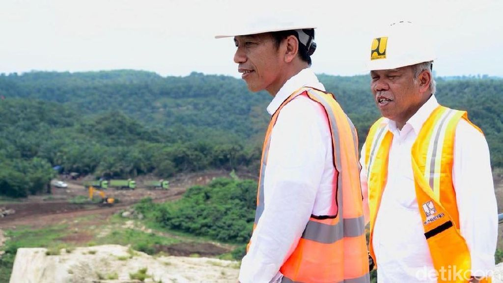 Jokowi Kejar Pemerataan Lewat Pembangunan Infrastruktur