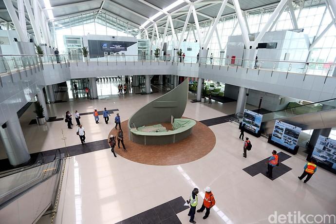 Foto: Begini Desain Interior Stasiun Bandara Soetta