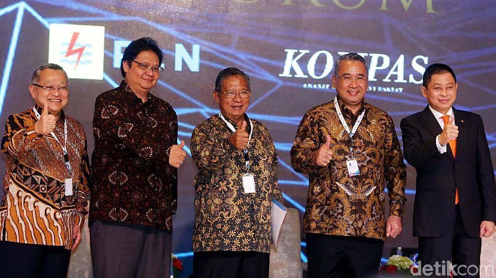 Menteri Kabinet Kerja Bicara di 100 CEO Forum