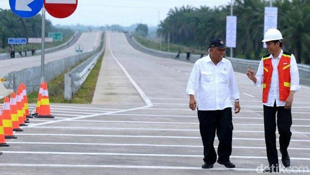 Jokowi: Tidak Ada Pengurangan Spesifikasi di Tol Becakayu