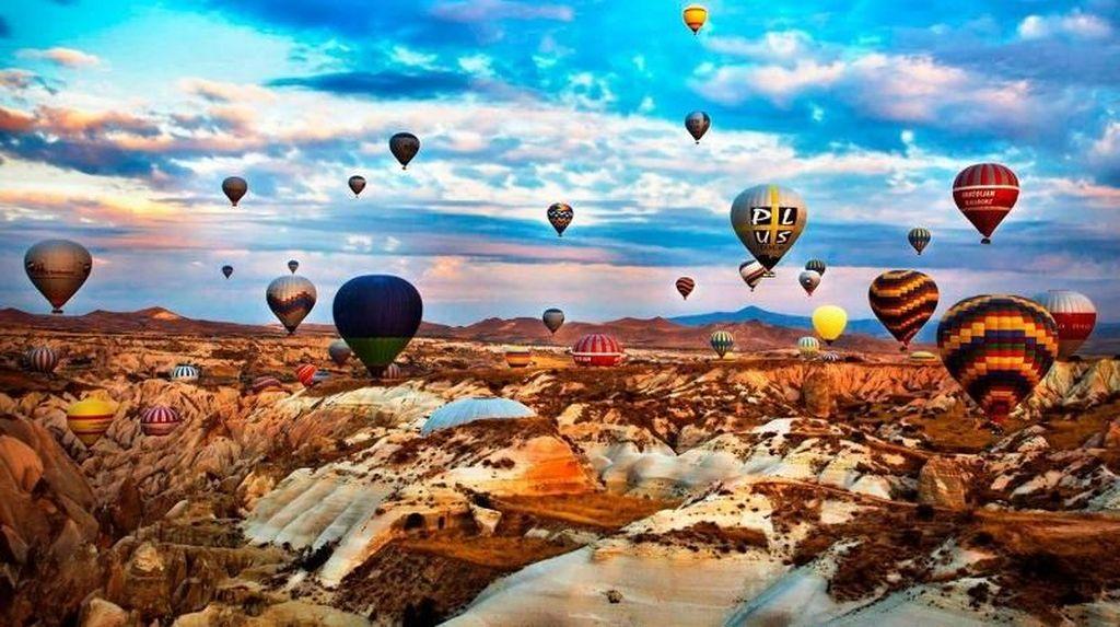 Foto: Kota Seribu Balon Udara