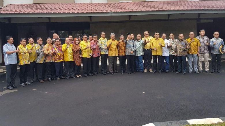 DPD I Golkar Temui Jokowi di Istana Bogor, Nurdin Halid Tak Ikut