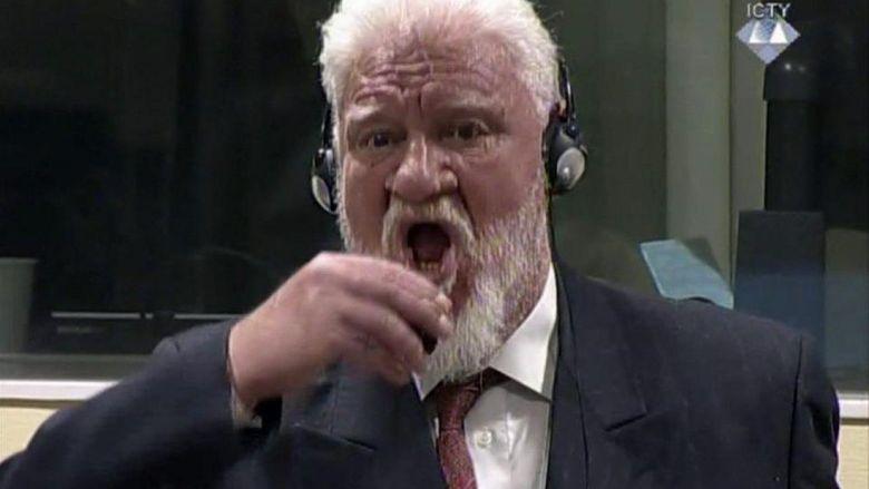 Dihukum 20 Tahun, Jenderal Perang Bosnia Tenggak Racun di Pengadilan