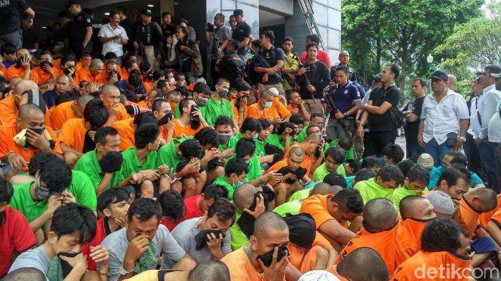Foto: Ini 351 Orang yang Terjaring Operasi Nila