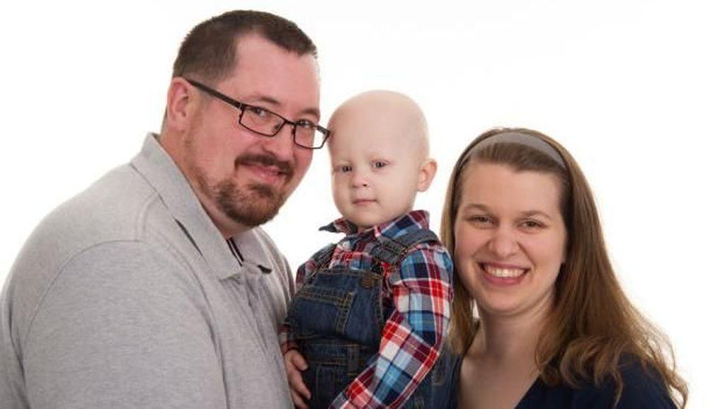 Semangat Bocah 2,5 Tahun yang Sukses Kalahkan Kanker Stadium 4